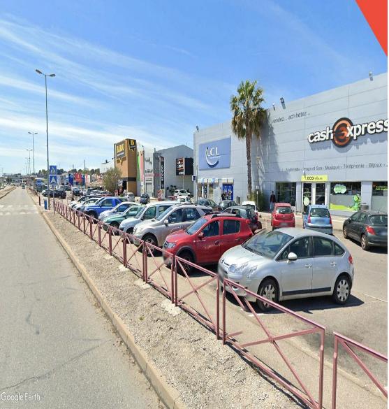 Vue Parking Plan de campagne - pennes