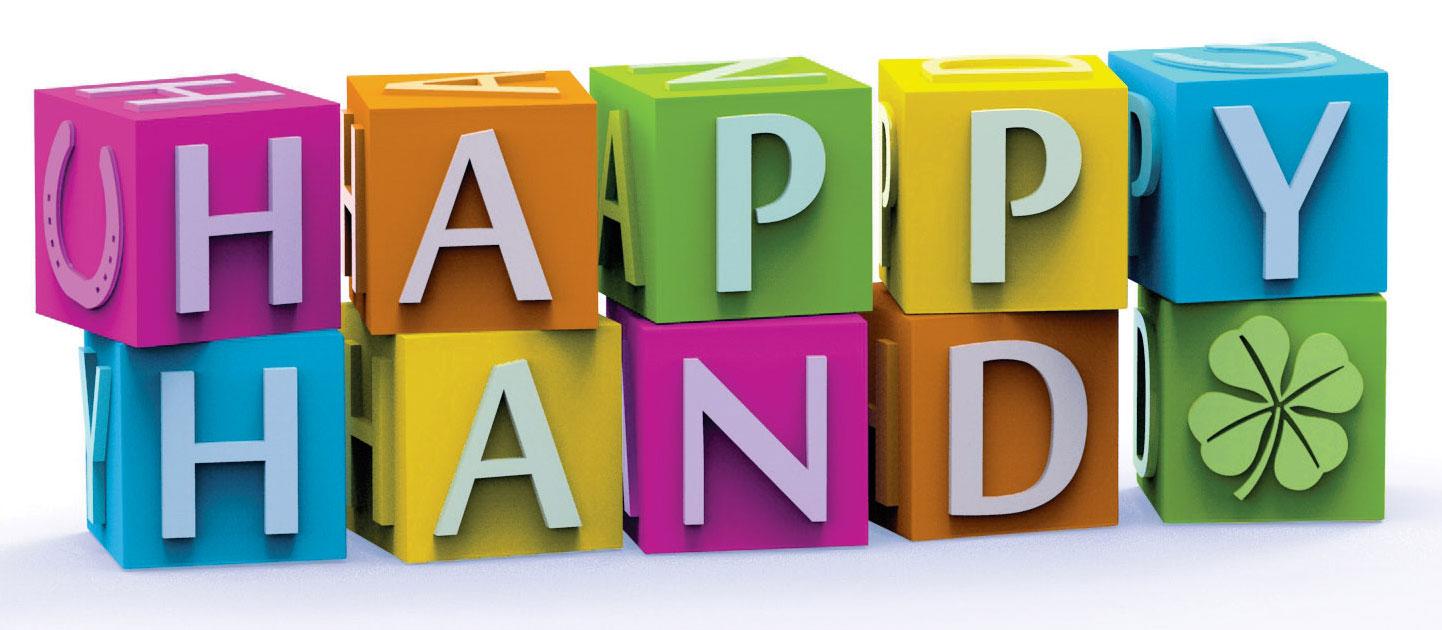logo happy hand